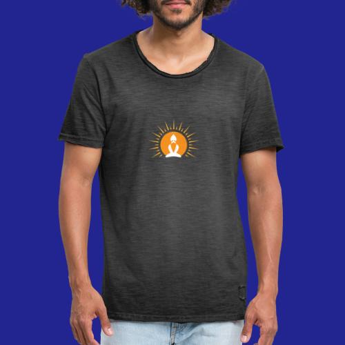 Guramylyfe logo white no text - Men's Vintage T-Shirt
