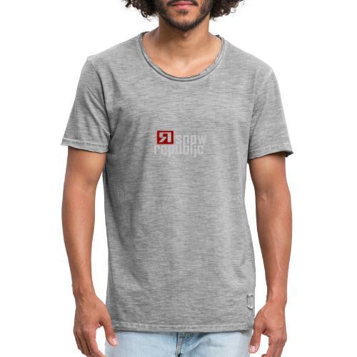 SNOWREPUBLIC 2020 - Mannen Vintage T-shirt