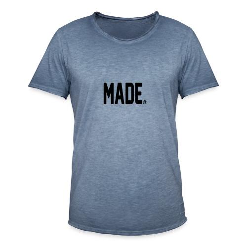 madesc - Vintage-T-shirt herr