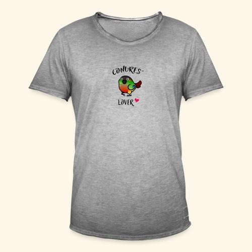 Conures' Lover: opaline - T-shirt vintage Homme