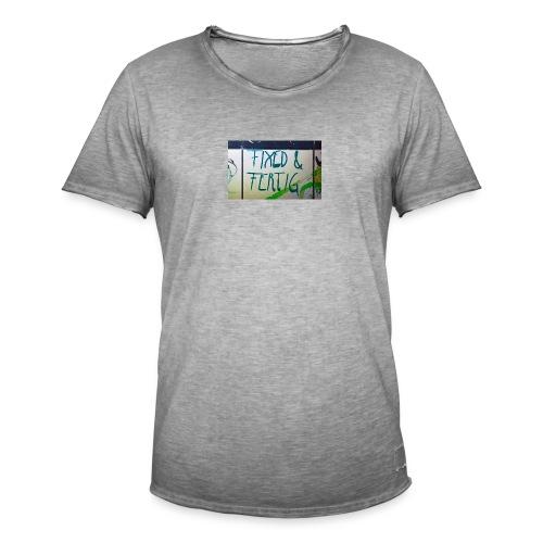 KLOSPRUCH FIXED & FERTIG - Männer Vintage T-Shirt