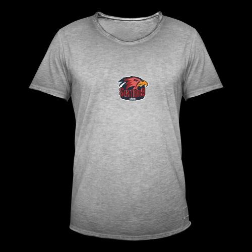 Sektion9 logo Rot - Männer Vintage T-Shirt