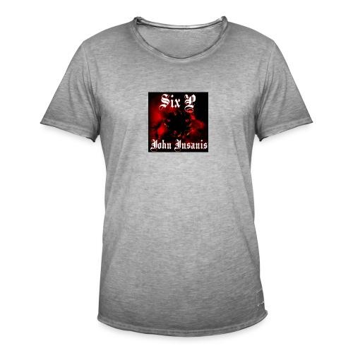 Six P John Insanis T-Paita - Miesten vintage t-paita