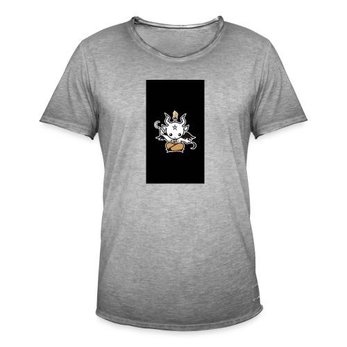Baphomet - Männer Vintage T-Shirt