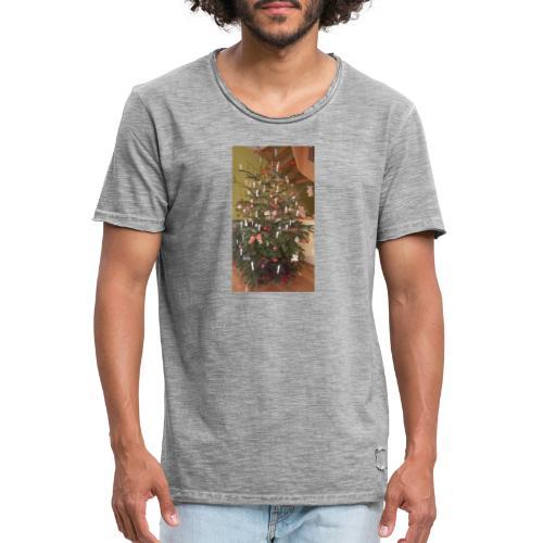 Weihnachtsbaum - Männer Vintage T-Shirt