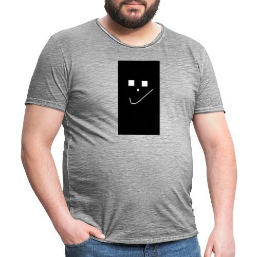 Smile :) - Männer Vintage T-Shirt