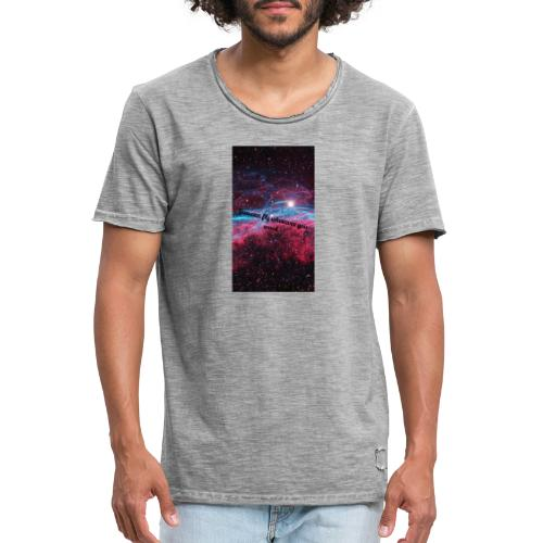 Space- You can Fly - Männer Vintage T-Shirt