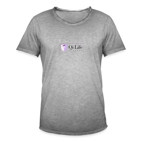 Qi Life Academy Promo Gear - Men's Vintage T-Shirt