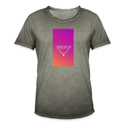 SteeleyLP👑 - Männer Vintage T-Shirt