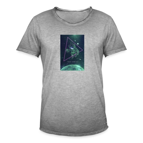 space poster 660 - T-shirt vintage Homme