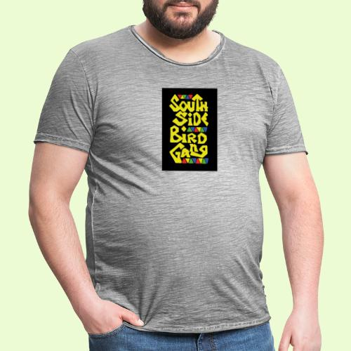 birdgang - Miesten vintage t-paita