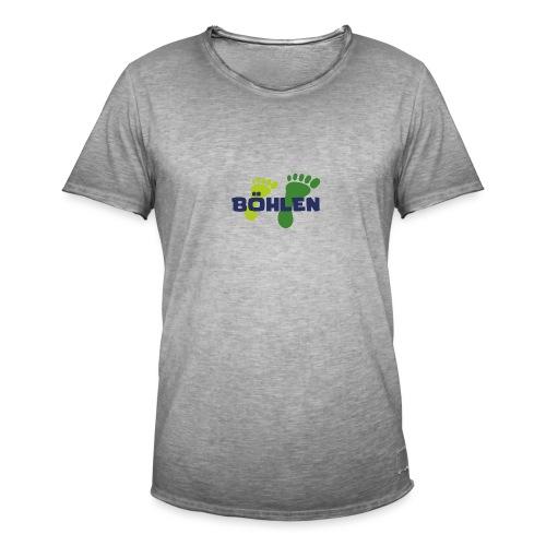Böhlen läuft. - Männer Vintage T-Shirt