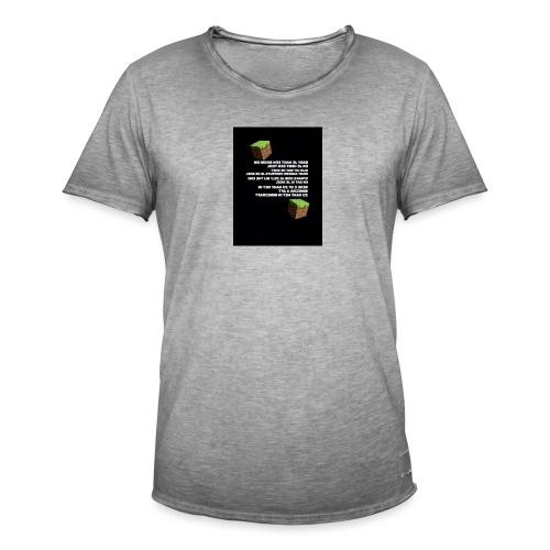 besef - Mannen Vintage T-shirt