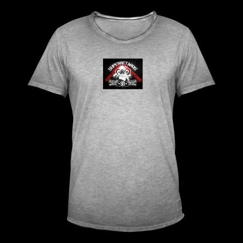 elsace-supermot - T-shirt vintage Homme