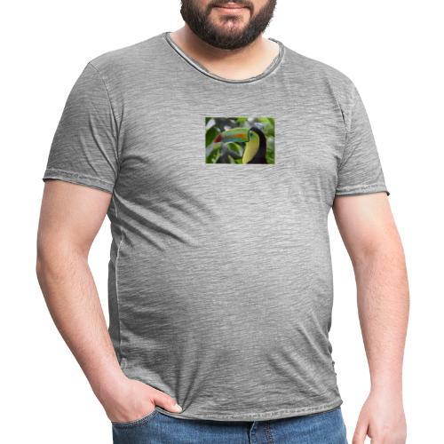 panama animal transport plane - Vintage-T-shirt herr