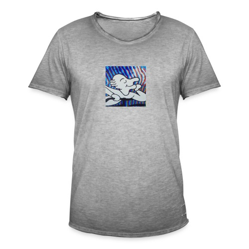 Albert Hofmann blotterface - Männer Vintage T-Shirt