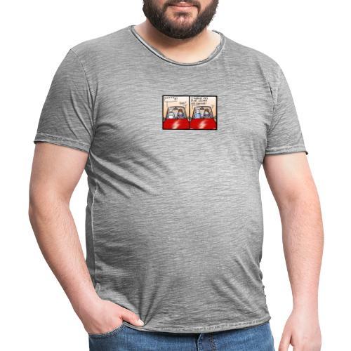 comme le chat - T-shirt vintage Homme