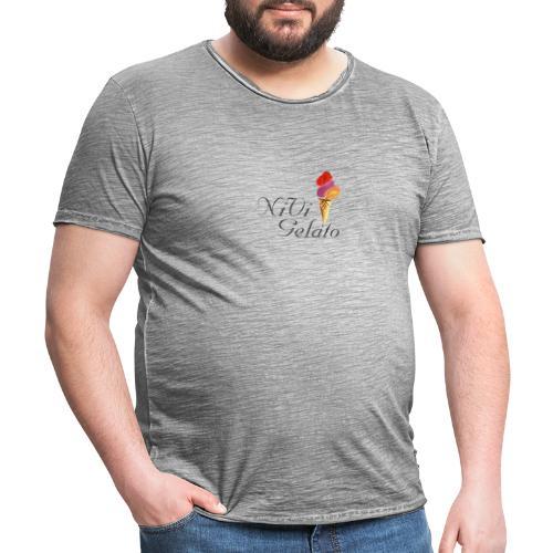 Nivi Gelato - Herre vintage T-shirt