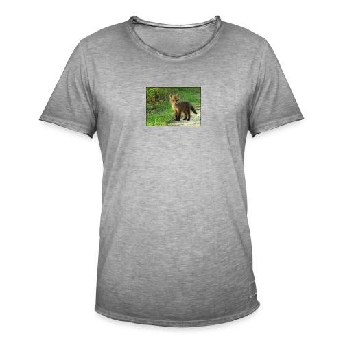 vossen shirt kind - Mannen Vintage T-shirt
