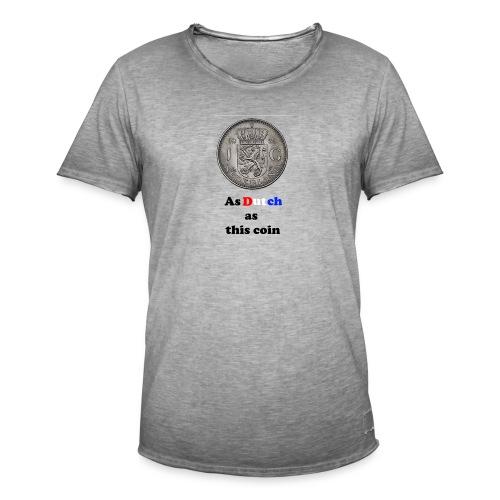 Hollandse Gulden - Mannen Vintage T-shirt