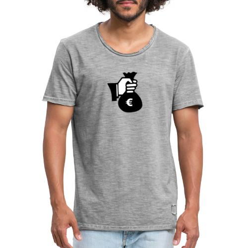 bank robbery 400300 960 720 - T-shirt vintage Homme