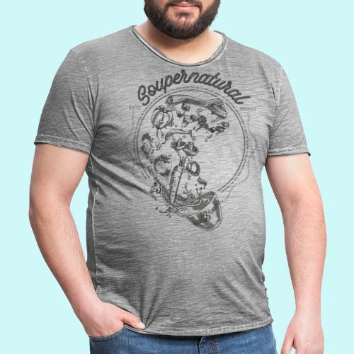 Soupernatural black - Männer Vintage T-Shirt