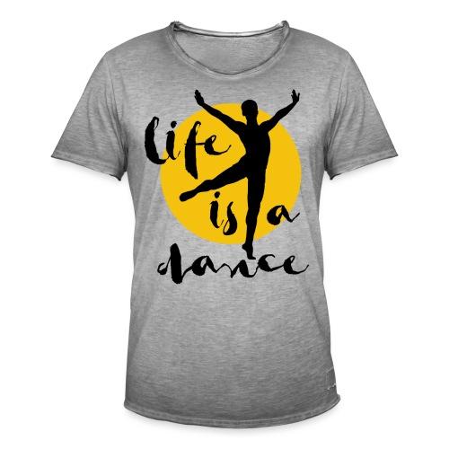 Ballett Tänzer - Männer Vintage T-Shirt