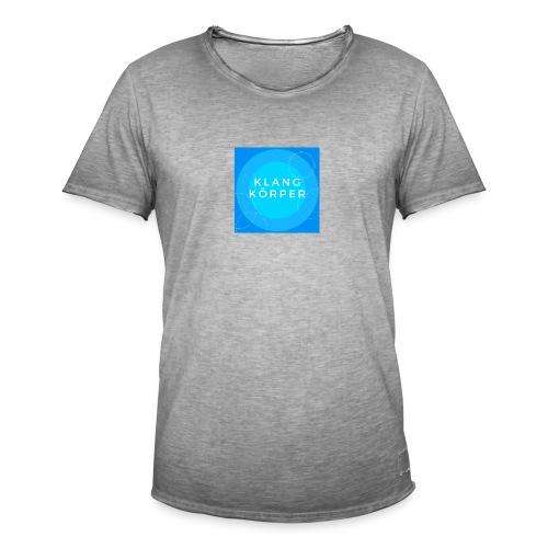 KLANGKÖRPER - Männer Vintage T-Shirt