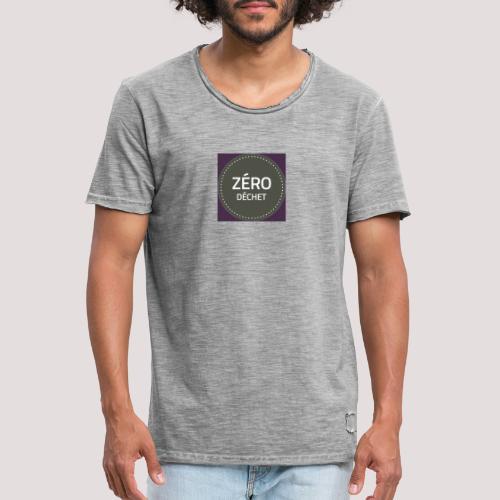 Zéro Déchet - T-shirt vintage Homme