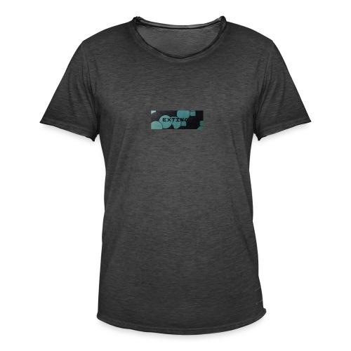 Extinct box logo - Men's Vintage T-Shirt