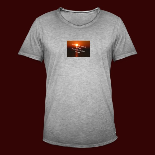 quote1 - Mannen Vintage T-shirt