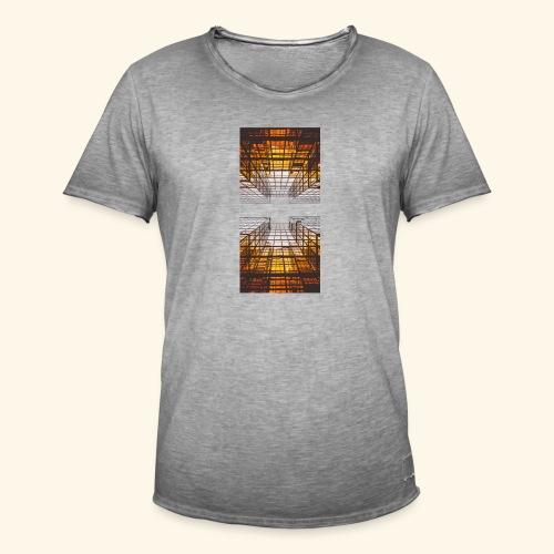 City - Männer Vintage T-Shirt