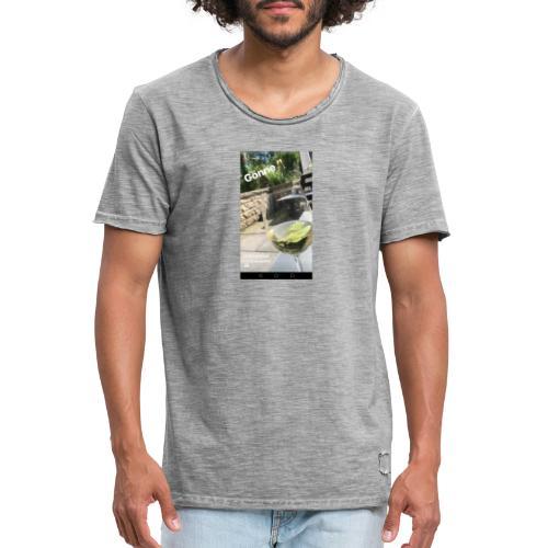 Gönne 🥂 - Männer Vintage T-Shirt
