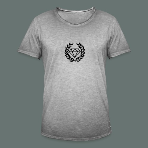Black diamond Logo - Men's Vintage T-Shirt