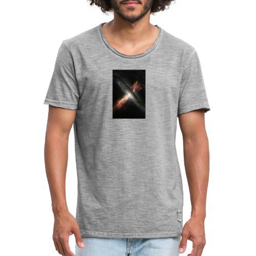 agujero negro - Camiseta vintage hombre