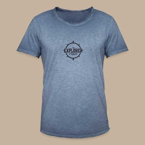 Black TEO Logo - Men's Vintage T-Shirt