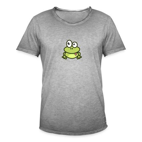 Frog Tshirt - Men's Vintage T-Shirt