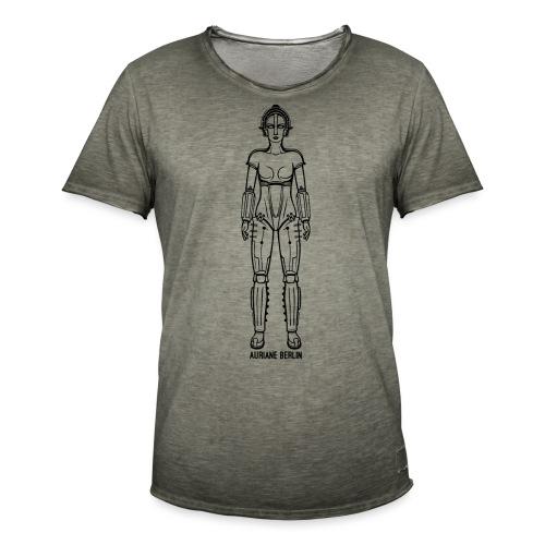 Maria - Männer Vintage T-Shirt