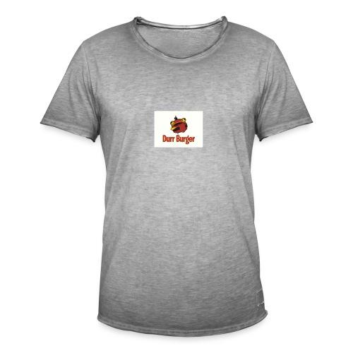 hambuger - T-shirt vintage Homme