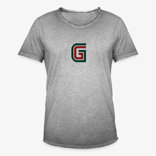G logo - Maglietta vintage da uomo