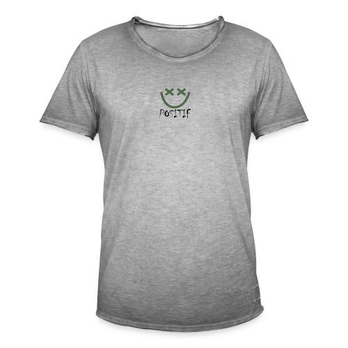 Positif Brand Basic - Camiseta vintage hombre