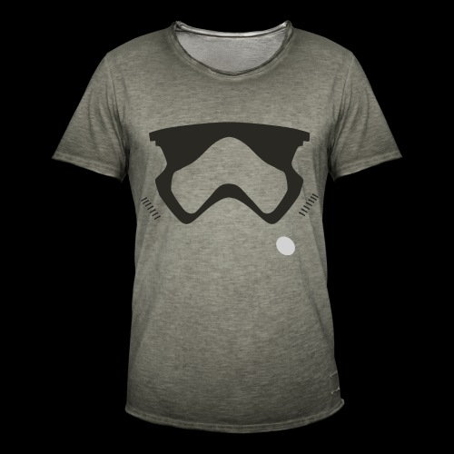 Modern Stormtrooper Face - Men's Vintage T-Shirt
