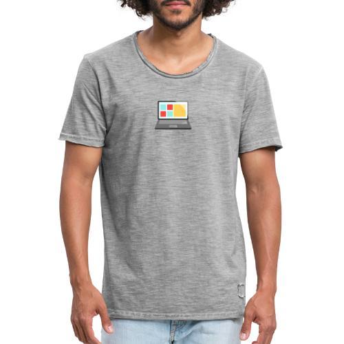Ropa de ordenador - Camiseta vintage hombre