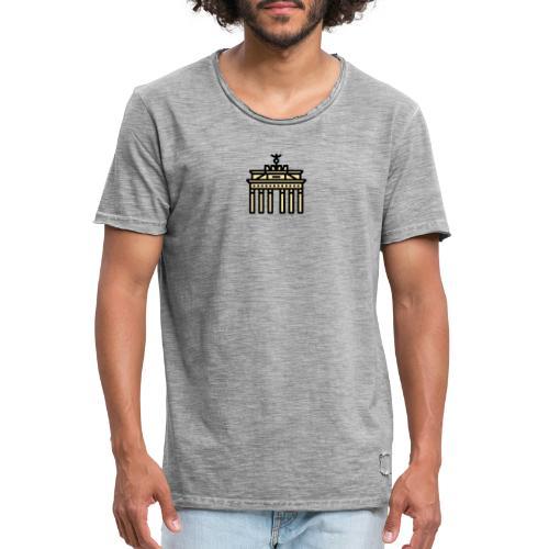 Berlin Brandenburger Tor - Männer Vintage T-Shirt