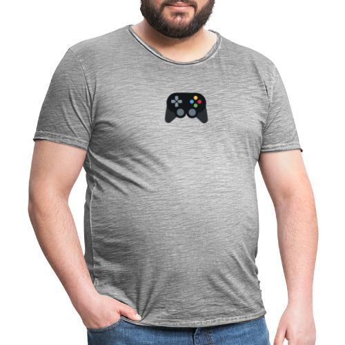 Spil Til Dig Controller Kollektionen - Herre vintage T-shirt