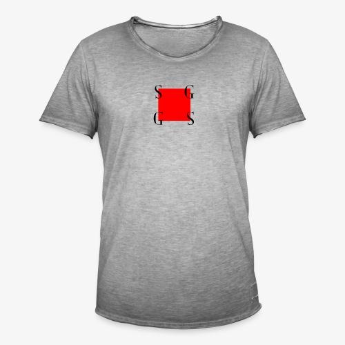 Modern Mag - Mannen Vintage T-shirt