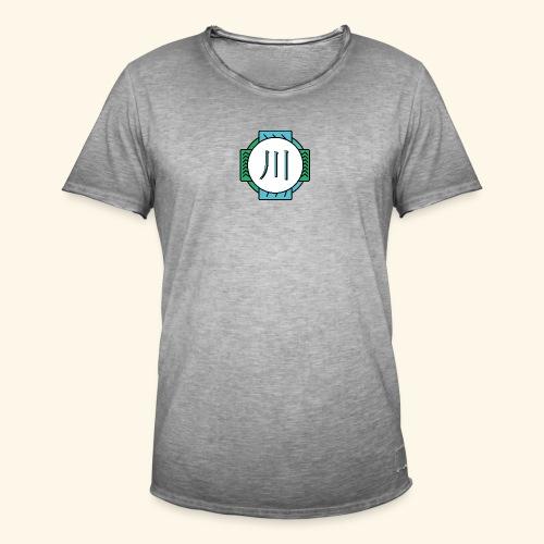 RIVER - T-shirt vintage Homme
