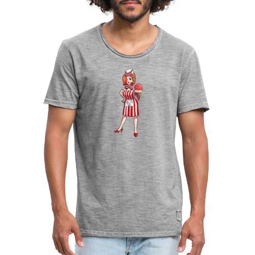 Mannheim   Mannheimer Eisdealer - Männer Vintage T-Shirt