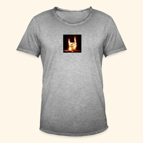 fingers bomb - T-shirt vintage Homme