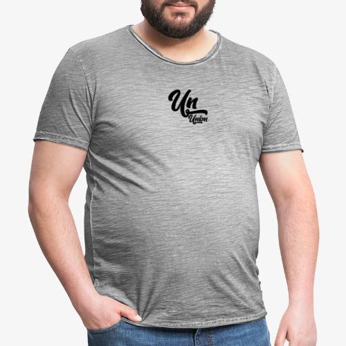 Union - T-shirt vintage Homme
